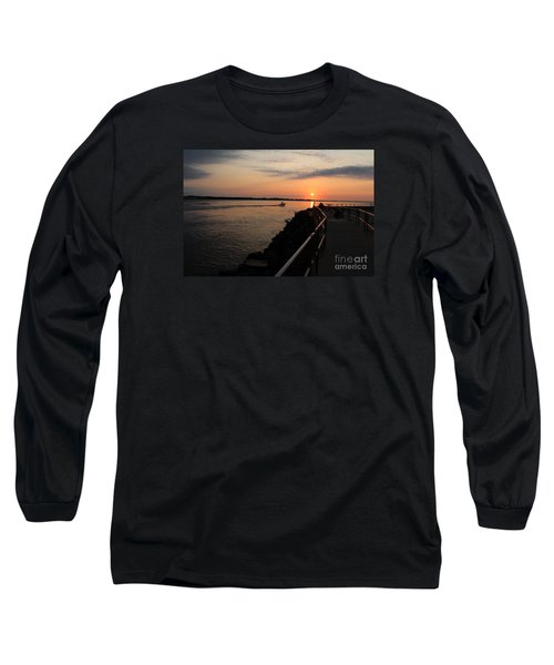 The Inlet Long Sleeve T-Shirt by David Jackson