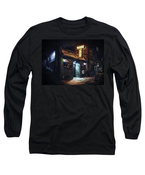 The Jazz Estate Nightclub Long Sleeve T-Shirt
