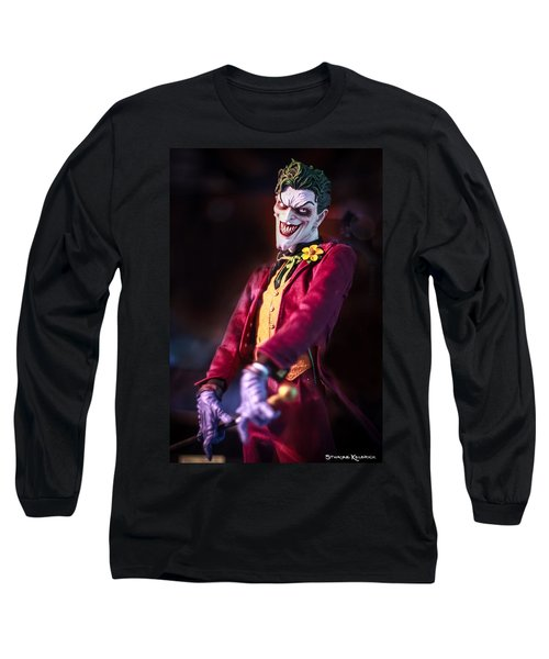 Long Sleeve T-Shirt featuring the photograph The Joker Dummy by Stwayne Keubrick