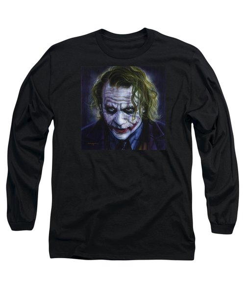 The Joker Long Sleeve T-Shirt by Timothy Scoggins