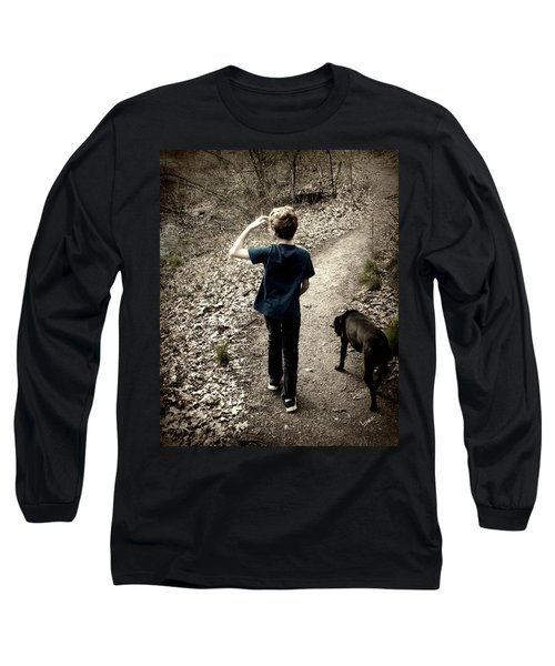 The Journey Together Long Sleeve T-Shirt by Bruce Carpenter