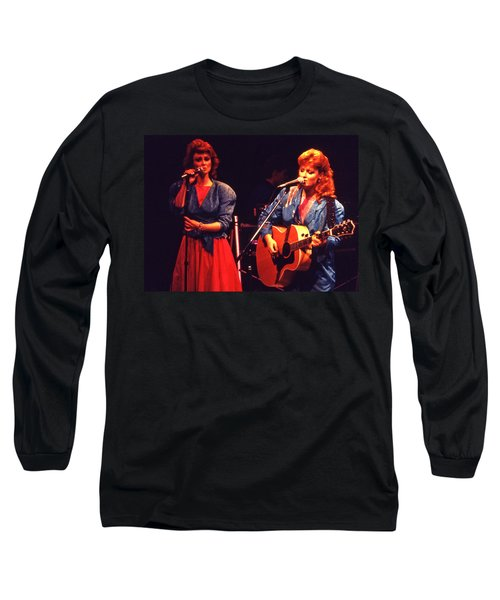 Long Sleeve T-Shirt featuring the photograph The Judds by Mike Martin