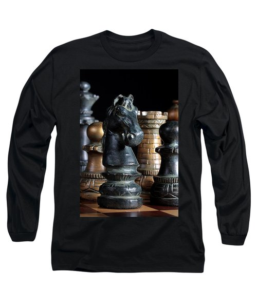 The Knights Challenge Long Sleeve T-Shirt by Joe Kozlowski