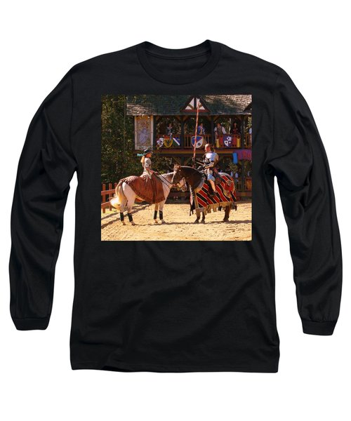 The Lady And The Knight Long Sleeve T-Shirt
