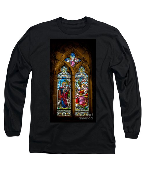 The Lambs Long Sleeve T-Shirt by Adrian Evans