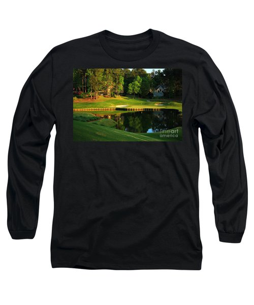 Golf At The Landing #3 In Reynolds Plantation On Lake Oconee Ga Long Sleeve T-Shirt