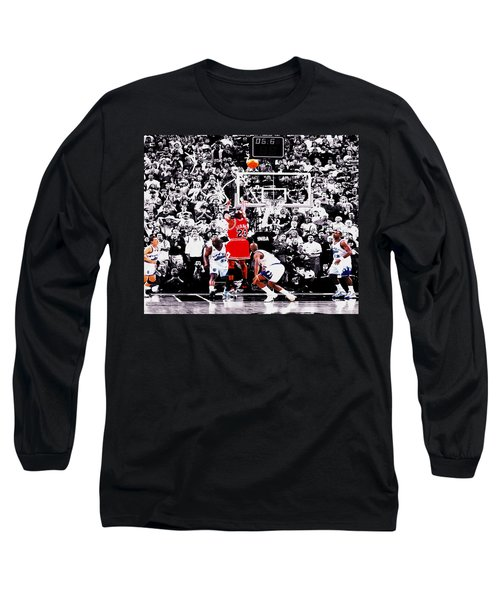 The Last Shot Long Sleeve T-Shirt by Brian Reaves