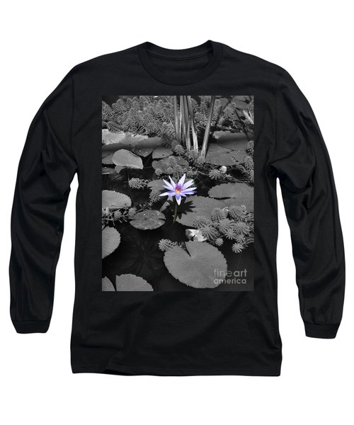 The Lone Flower Long Sleeve T-Shirt
