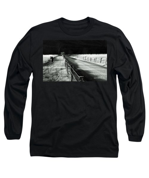 The Lone Photographer Long Sleeve T-Shirt