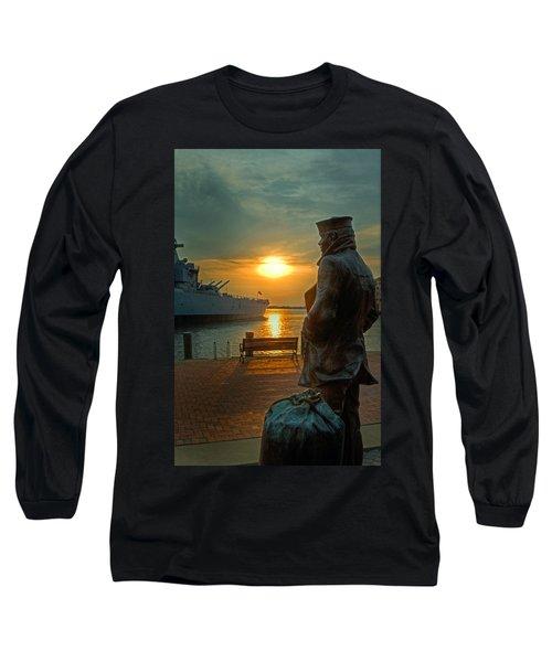 The Lone Sailor Long Sleeve T-Shirt