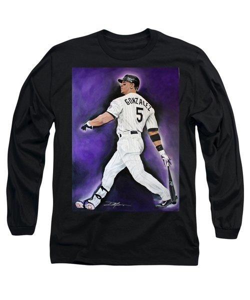 Carlos Gonzales Long Sleeve T-Shirt