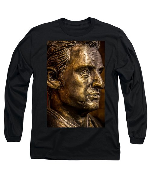 The Man In Black Long Sleeve T-Shirt