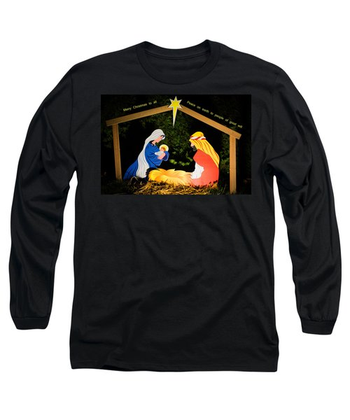 O Holy Night Long Sleeve T-Shirt