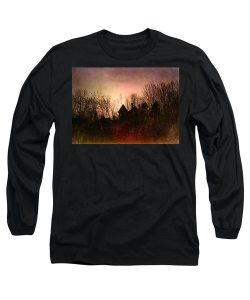 The Mansion Is Warm At The Top Of The Hill Long Sleeve T-Shirt