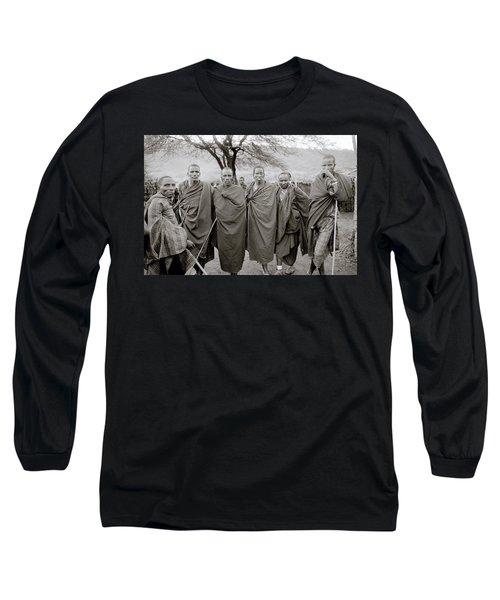 The Masai Long Sleeve T-Shirt by Shaun Higson