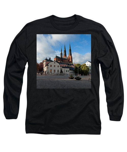 The Medieval Uppsala Long Sleeve T-Shirt by Torbjorn Swenelius