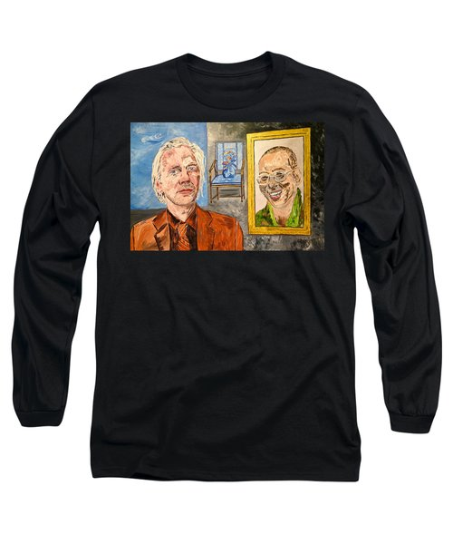 The Mirrored Truth Long Sleeve T-Shirt by Valerie Ornstein
