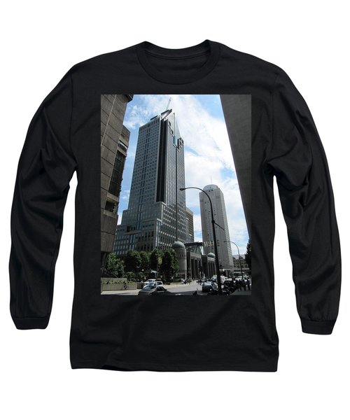 Long Sleeve T-Shirt featuring the photograph The Montreal Skyscraper by Shawn Dall