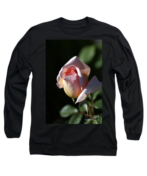 The Morning Pink Rose Long Sleeve T-Shirt
