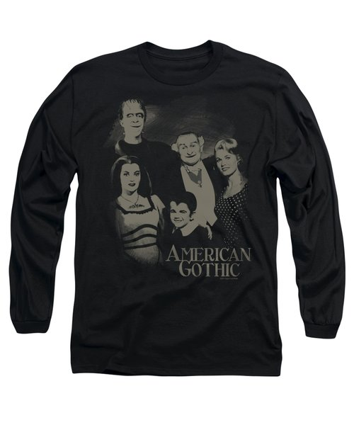The Munsters - American Gothic Long Sleeve T-Shirt