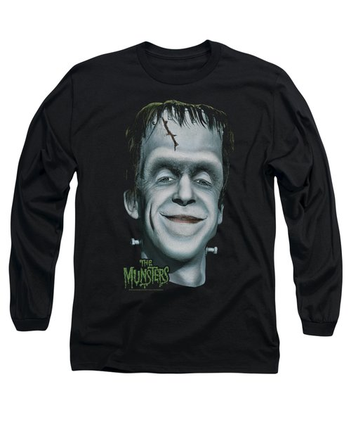 The Munsters - Herman's Head Long Sleeve T-Shirt