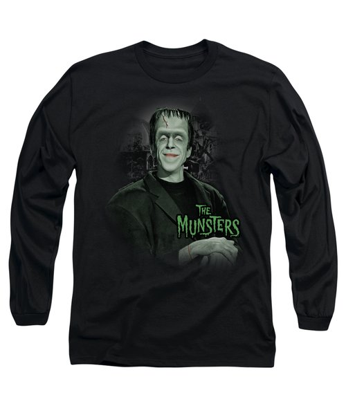 The Munsters - Man Of The House Long Sleeve T-Shirt