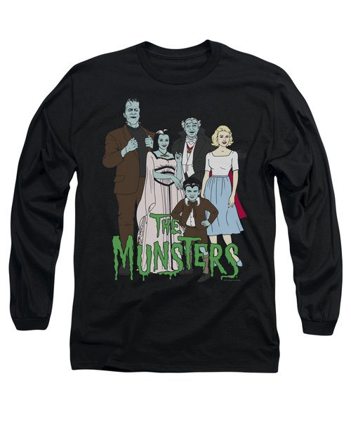 The Munsters - The Family Long Sleeve T-Shirt