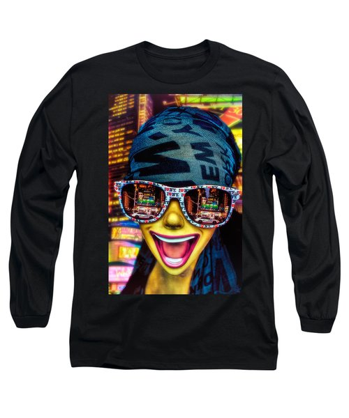 Long Sleeve T-Shirt featuring the photograph The New York City Tourist by Chris Lord