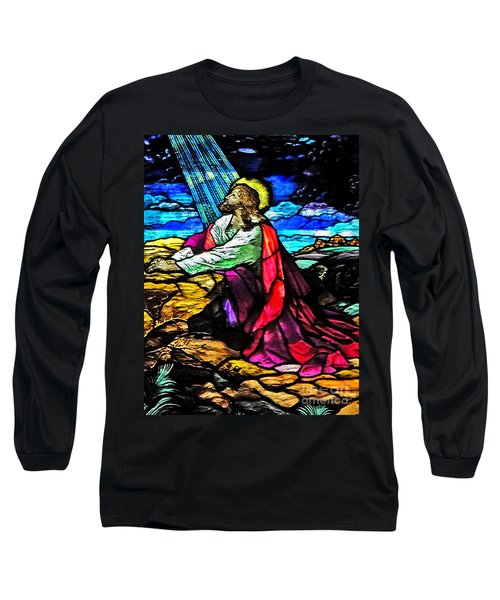 The Night Before The Cross Long Sleeve T-Shirt by Lydia Holly