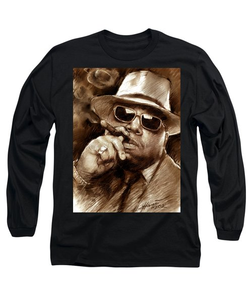 The Notorious B.i.g. Long Sleeve T-Shirt by Viola El