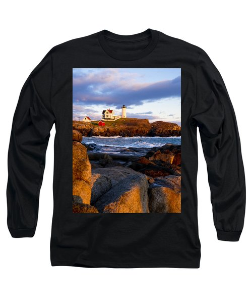 The Nubble Lighthouse Long Sleeve T-Shirt