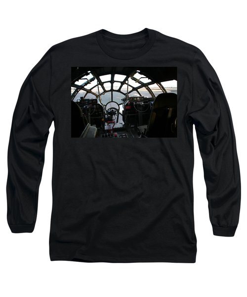 Long Sleeve T-Shirt featuring the photograph The Office by David S Reynolds