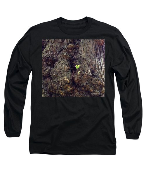 Long Sleeve T-Shirt featuring the photograph The Old And The New by Becky Lupe