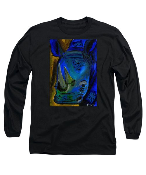 The Old Blue Rhino Long Sleeve T-Shirt