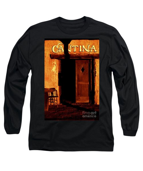The Old Cantina Long Sleeve T-Shirt by Paul W Faust -  Impressions of Light