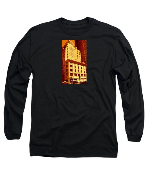The Old Good Days In Manhattan Long Sleeve T-Shirt