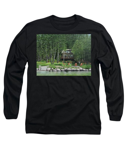 The Old Lawg Caybun On Lake Joe Long Sleeve T-Shirt