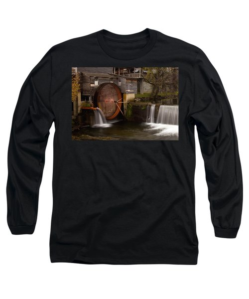 The Old Mill Detail Long Sleeve T-Shirt by Douglas Stucky