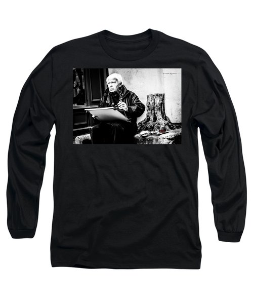 The Old Painter Long Sleeve T-Shirt