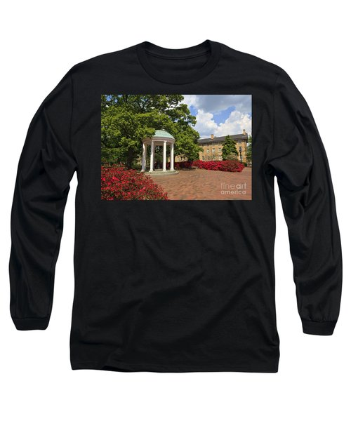The Old Well At Chapel Hill Campus Long Sleeve T-Shirt