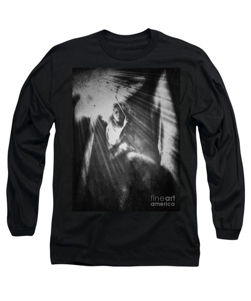 The One Who Waited Long Sleeve T-Shirt by Jessica Shelton