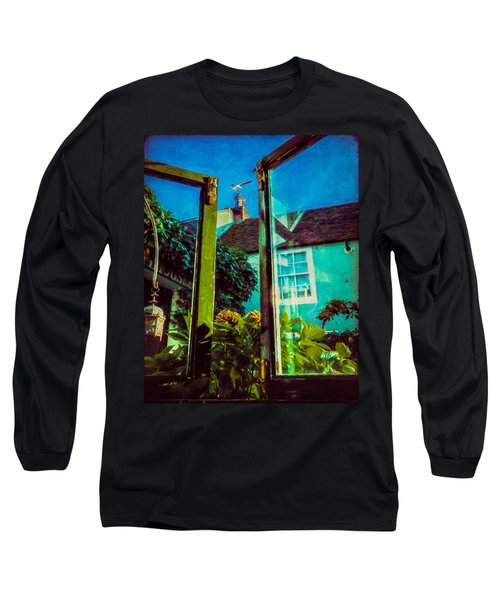 Long Sleeve T-Shirt featuring the photograph The Open Window by Chris Lord