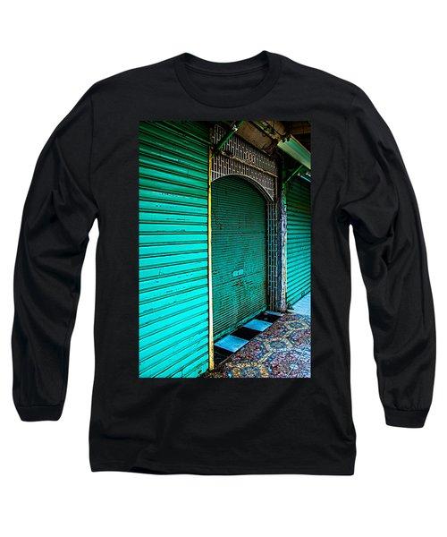 Marrakech Aqua Long Sleeve T-Shirt