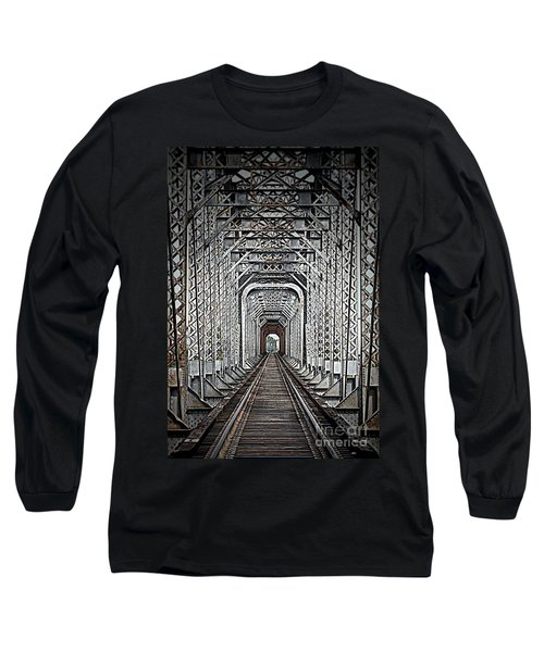 Long Sleeve T-Shirt featuring the photograph The Other Side  by Barbara Chichester