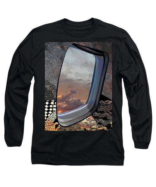 Long Sleeve T-Shirt featuring the digital art The Other Side Of Natural by Glenn McCarthy Art and Photography