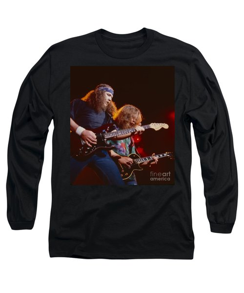 The Outlaws - Hughie Thomasson And Billy Jones Long Sleeve T-Shirt