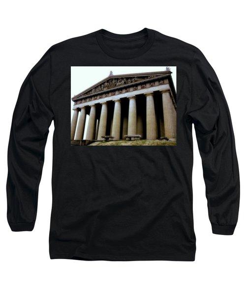 The Parthenon Nashville Tn Long Sleeve T-Shirt