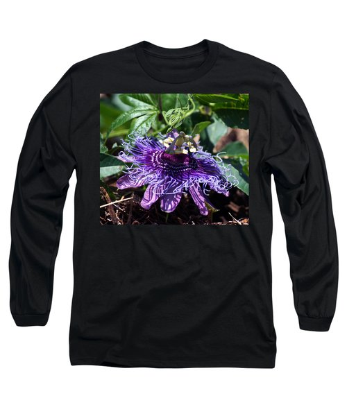 The Passion Flower Long Sleeve T-Shirt