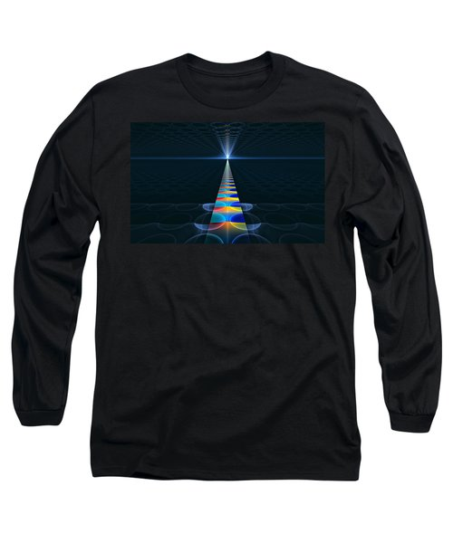 Long Sleeve T-Shirt featuring the digital art The Path Ahead by GJ Blackman