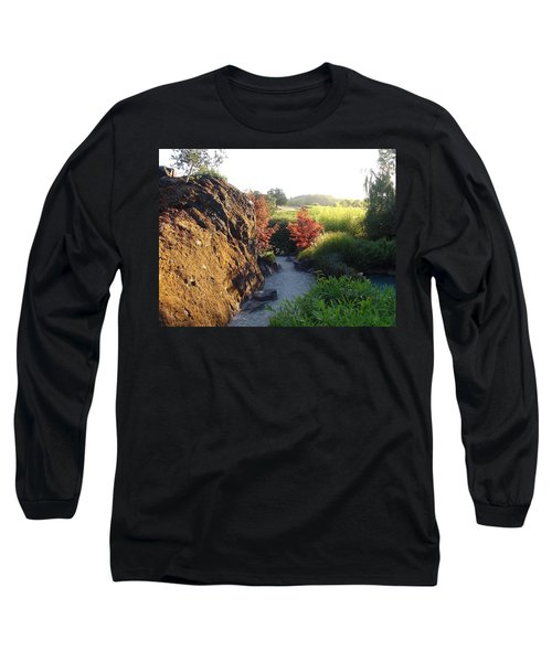 Long Sleeve T-Shirt featuring the photograph The Path by Shawn Marlow